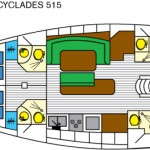 Cyclades 515 layout