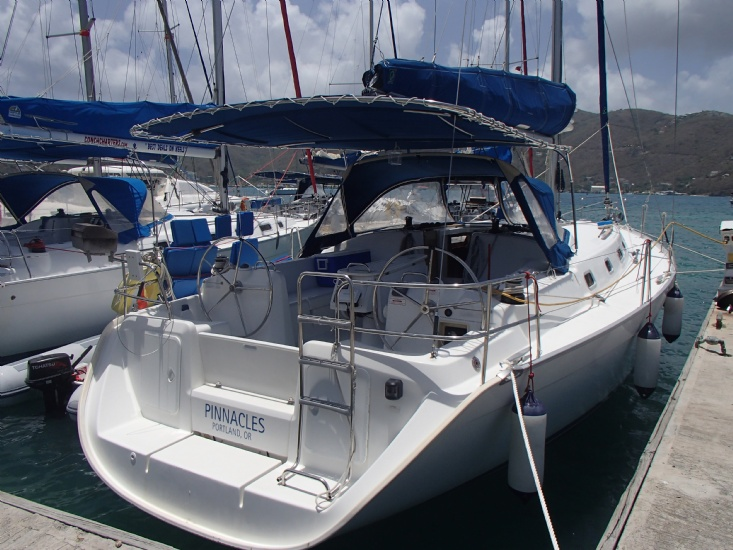 Cyclades 43 4c exterior view