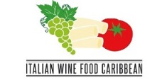 italian food wine logo