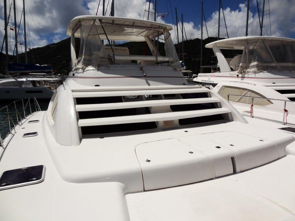 Leopard 47PC foredeck