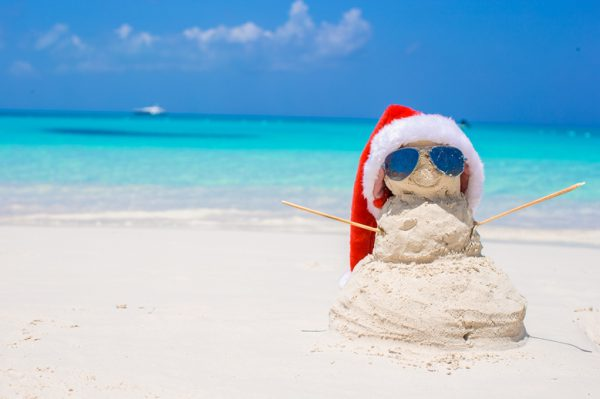dec newsletter caribbean snowman