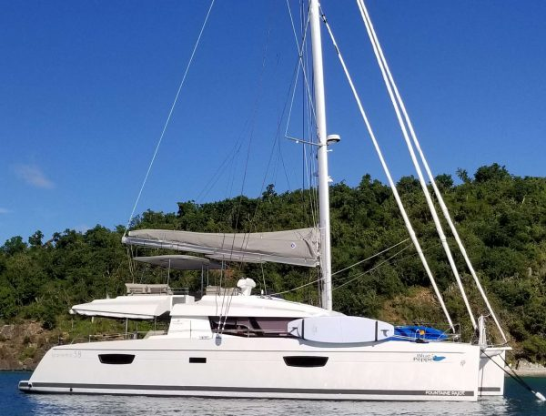 blue pepper catamaran