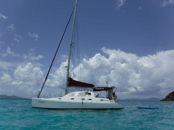entheos charter catamaran